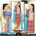 Chiffon Stylish Eid Dresses 2015 by Charizma (4)