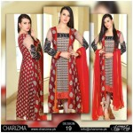 Charizma Chiffon New Eid Stylish Dresses 2015 (1)