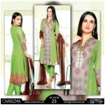 Charizma Chiffon New Eid Stylish Dresses 2015 (2)