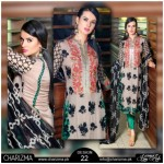 Chiffon Stylish Eid Dresses 2015 by Charizma (2)