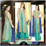 Chiffon Stylish Eid Dresses 2015 by Charizma (3)