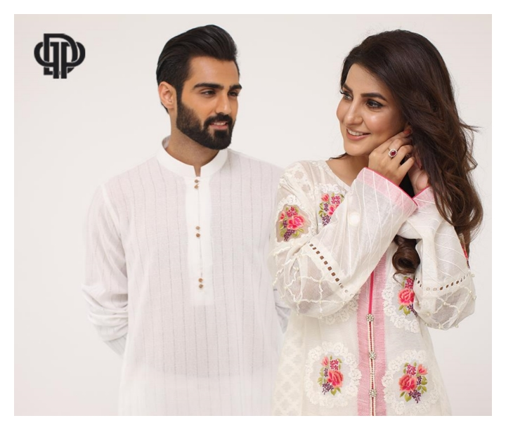 Deepak Perwani Summer Eid Collection 2015 for Women & Men (4)