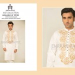 Designer Emraan Rajput Embroidered Kurta Eid Collection 2015 (1)