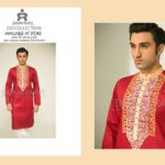 Designer Emraan Rajput Embroidered Kurta Eid Collection 2015 (2)