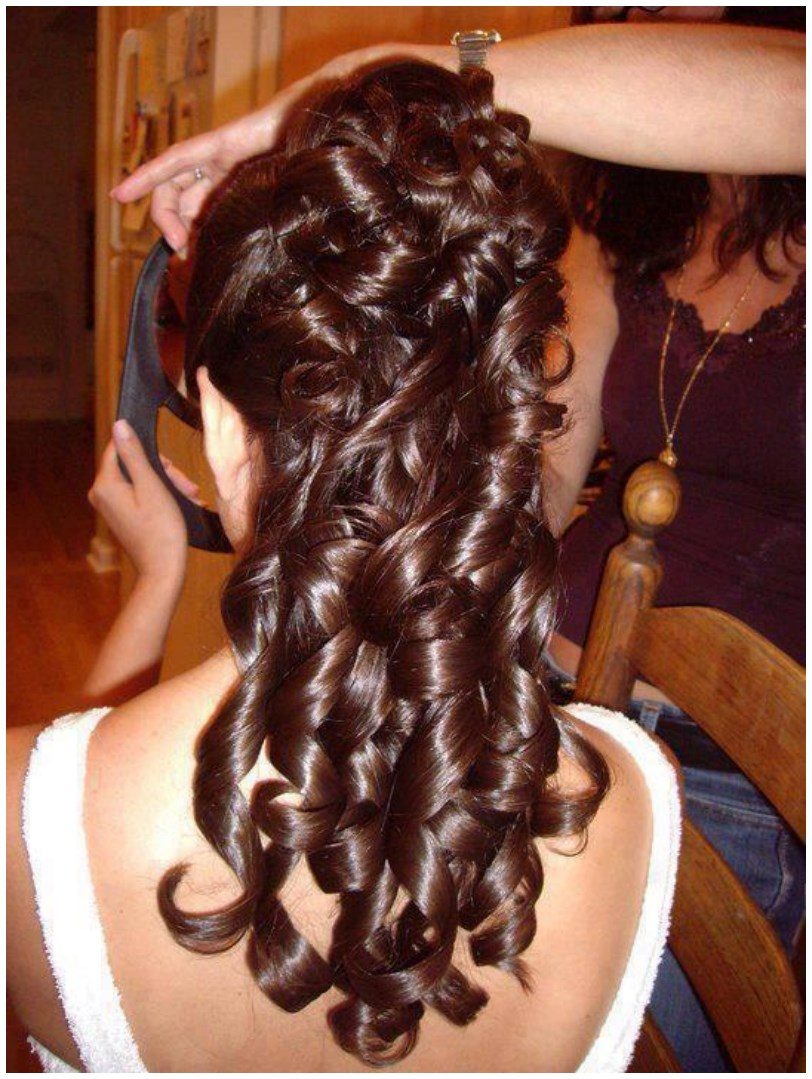 Stunning Eid Hairstyle to ladies