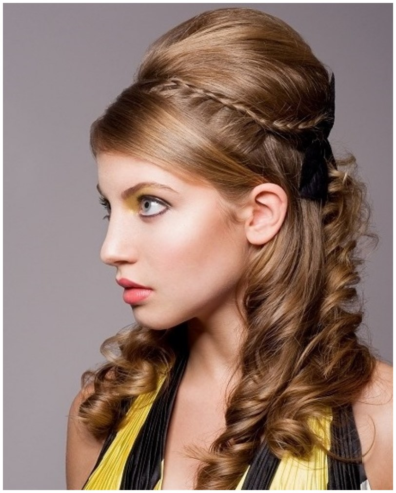 Wondrous Eid Hairstyle 2015 For Young Girls Short Hairstyles For Black Women Fulllsitofus
