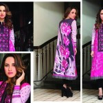 Hadiqa Kiani Flora Summer Eid Kurti 2015 for Women (1)