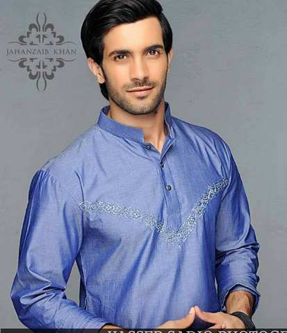 Jahanzaib Khan Trendy kurta Men Wear Eid Designs (5)