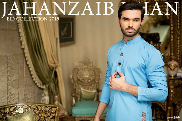 Jahanzaib Khan Trendy kurta Men Wear Eid Designs (8)