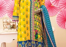 Junaid Jamshed Bright Summer Eid Dresses 2015 for Women (9)