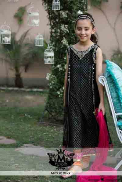 Kids Eid New Dresses Design 2015 By MARIA.B (1)