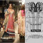 Latest Frock Design by Amna Ajmal