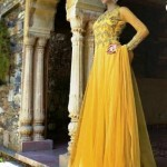 Lovely Frock and Salwar Kameez 2015 by Sayena (2)