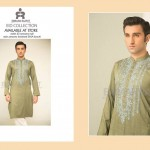 Men Shalwar Kameez Kurta Eid Fashion 2015-16 by Emraan Rajput (1)