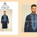 Men Shalwar Kameez Kurta Eid Fashion 2015-16 by Emraan Rajput (2)