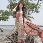 Monarca Lawn Eid Collection 2015 by Rashid Textile (1)