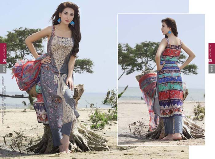 Monarca Lawn Summer Collection 2015 Vol-1