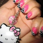 Nail Art Stylish Designs For Eid (6)