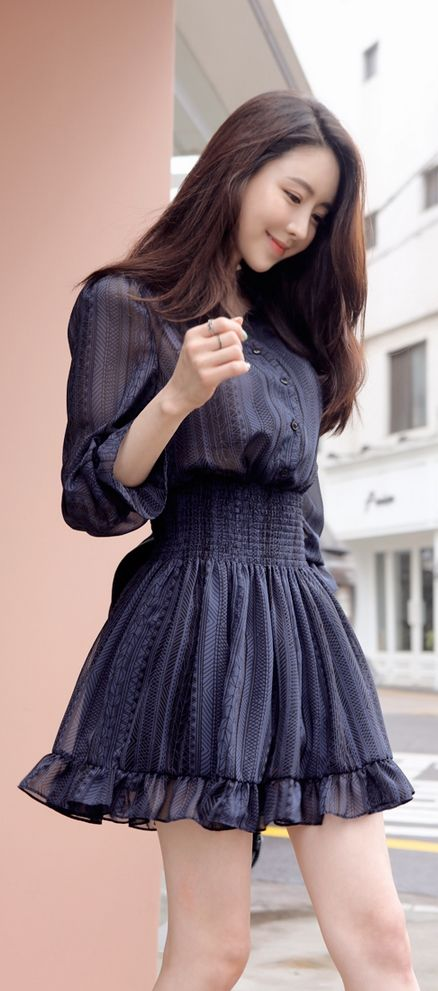 South Korean Cute Girls Fashion Outfits 2015 (2)