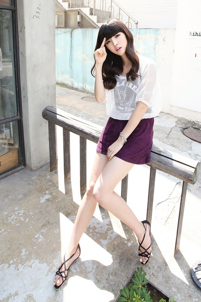 South Korean Cute Girls Fashion Outfits 2015 (3)