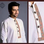 New Men's Wear Kurta Designs 2014 By Jahanzaib Khan