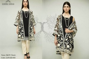 Zaheer Abbas Formal Eid Dresses 2015 For Girls (2)