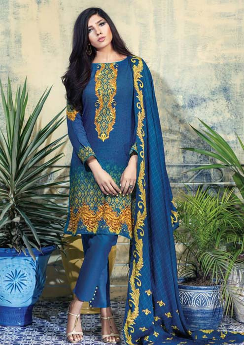 Alkaram studio Embroidered Eid Collection 2015 for Women (2)