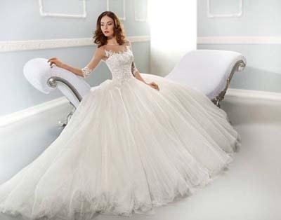 Bridal Wedding Wear Dresses 2015 for UK Girls (1)