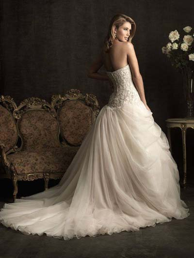 Bridal Wedding Wear Dresses 2015 for UK Girls (3)