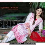 Charizma Luxury Lawn Party Wear 2015 Vol-03 for Ladies (2)
