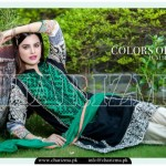Charizma luxury chiffon eid dress collection 2015 for girls (1)