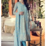 Pakistani Designer Maria B Mbroidered Eid ul Azha Suits 2015 for Women (12)