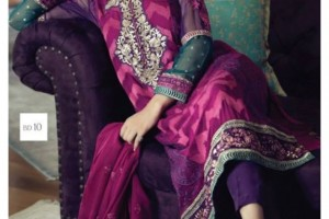 Designer Maria B Mbroidered Eid ul Azha Suits 2015 for Women (2)