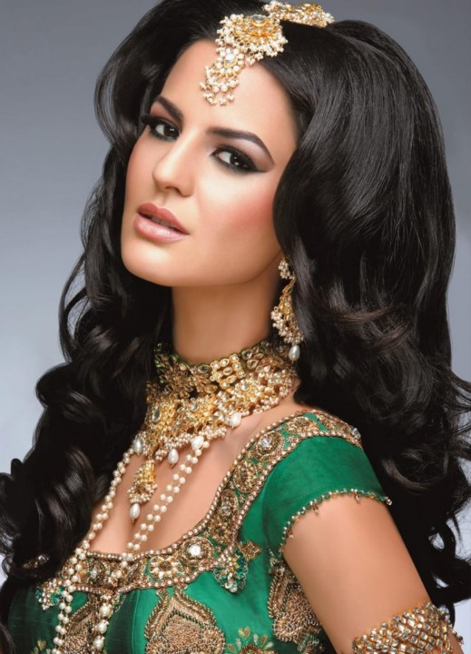Pakistani and Indian Bridal Shadi Dresses 2015-2016