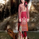 GulAhmed Cool Embroidered Chiffon dresses 2015 for Women (2)