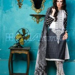 GulAhmed Cool Embroidered Chiffon dresses 2015 for Women (9)