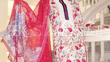 GulAhmed Mid summer Dresses for Girls (2)