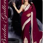 Bollywood Actress Jacqueline Fernandez Amazing Sarees 2015 (2)