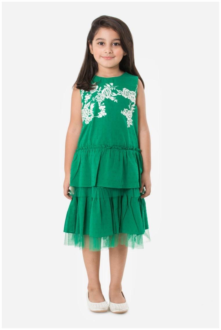 Shirt design for baby girl - Khaadi Latest Kids Eid Shirts Frocks Design 2017 2018 For Online Shopping