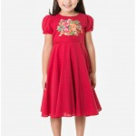 Khaadi Red frock for girls
