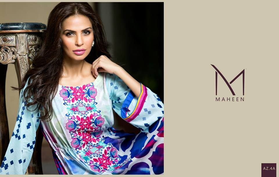 Maheen Tunics Collection 2015-2016 by Al-Zohaib Textiles (1)