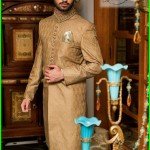 Sherwani Wear Collection 2015 by Nauman Arfeen for Groom (2)