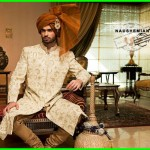 Nauman Arfeen Stylish Sherwani Groom 2015 (6)