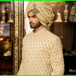 Nauman Arfeen Stylish Sherwani Groom 2015 (12)