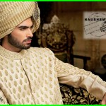 Nauman Arfeen Stylish Sherwani Groom 2015 (2)