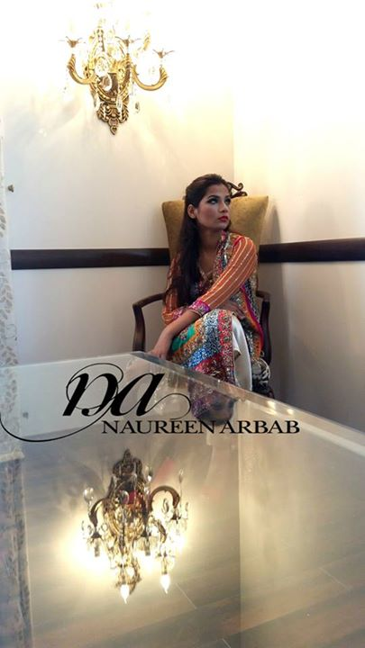 Naureen Arbab New Formal dresses 2015-16 (3)