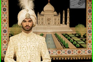 Nauman Arfeen Stylish Sherwani Groom 2015 (13)