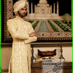 Naushemian Nauman Arfeen Groom Wear Dresses 2015 (1)