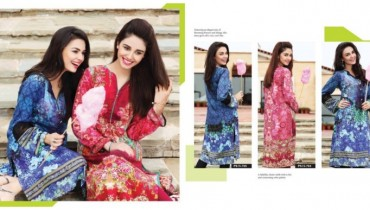 Nishat Linen Pret wear Saavan Collection 2015 (3)
