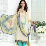 Nisha Fabrics trendy Saavan Collection 2015 by Nishat Linen (4)
